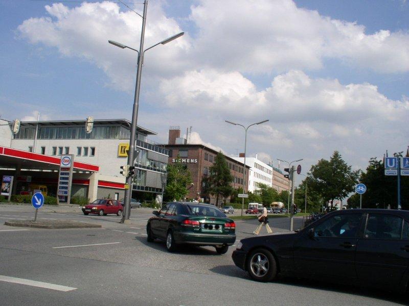 Strassenkreuzung sendling-Westpark