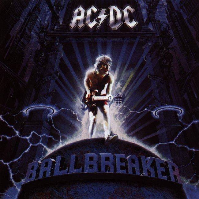 AC/DC - Ballbreaker (Frontcover)