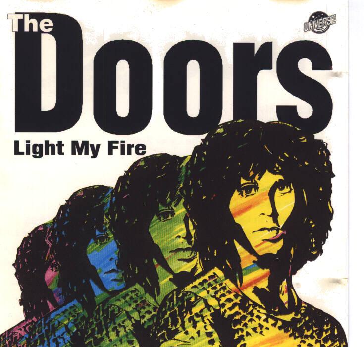 Doors - Light My Fire (Front)  sc 1 st  Club-Chantal & Club Chantal - Cover Galerie