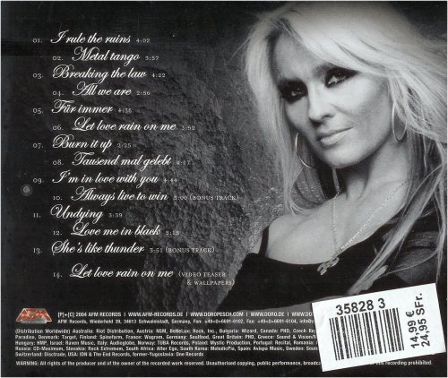 Doro - Classic Diamonds - Back