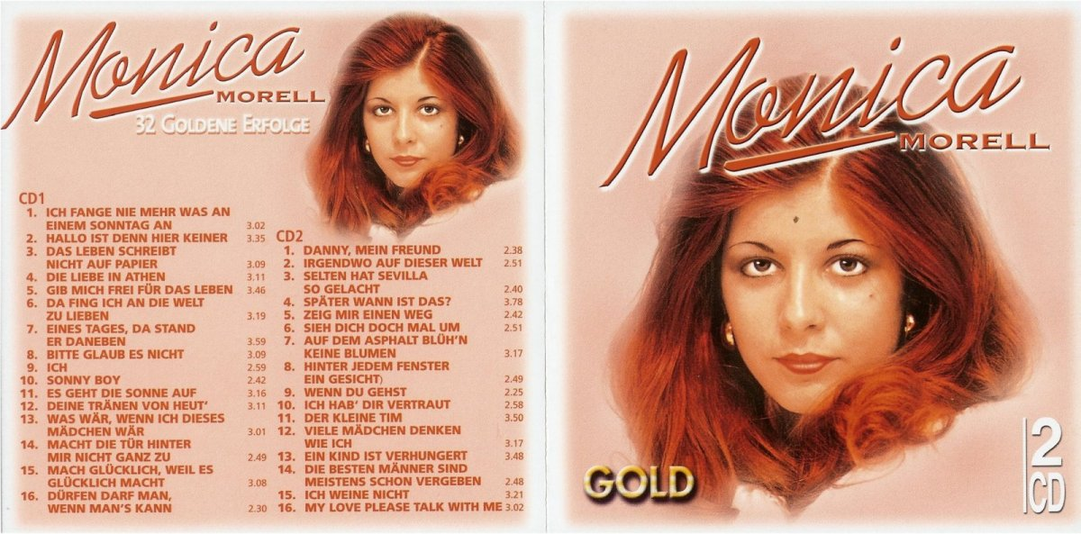Monica Morell - 32 Hits - Cover